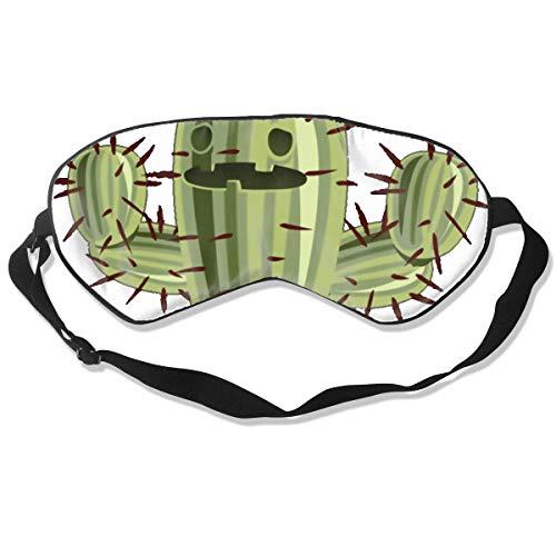 Oogmasker Cactus Gratis Knuffel Slapen Masker Verstelbare Ademend Slaap Masker Slapende Slaap Ogen Masker Oogschaduw Blindfold