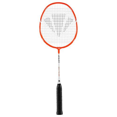 Carlton Badmintonracket Midi-Blade Iso 4.3 G4 NH, Rot, L4