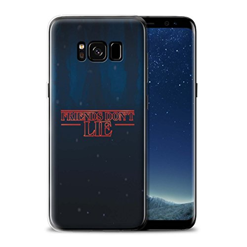 STUFF4 Gel TPU Phone Case/Cover for Samsung Galaxy S8/G950 / Friends Don't Lie Design/Strange Retro Collection