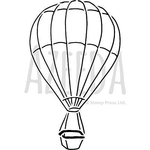 Large A2 'Hot Air Balloon' Wall Stencil / Template (WS00038089)