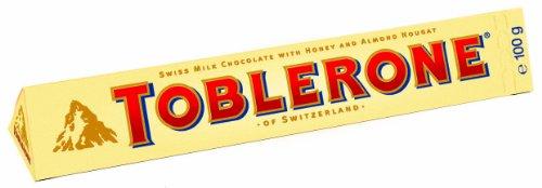 Toblerone, Tafel-Schokolade, 5er Pack (5 x 100 g)