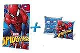 Spiderman Fleece-Decke & Kopfkissen (Motiv 1)