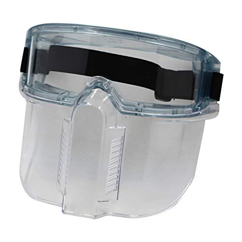 Visiera Di Protezione Visiera Regolabile in PC Full Face Bocca Schermo antíspruzzo Visiera Parasole UV Di R-WEICHONG