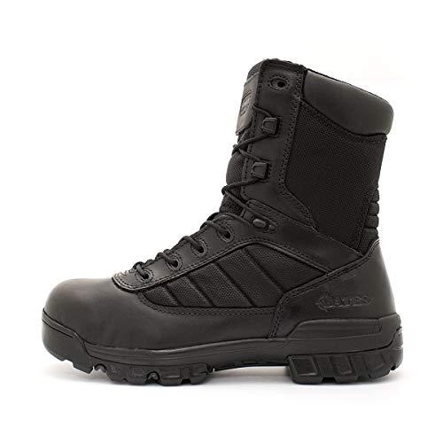"Bates Men's 8"" Ultralite Tactical Sport Side Zip Military Boot, Black, 8.5 XW US"