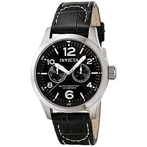 Invicta 0764 I-Force Reloj para Hombre acero inoxidable Cuarzo Esfera negro