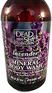 Mineral Body Wash Lavender Dead Sea Collection Reviving & Calming Oil Large Pump Bottle