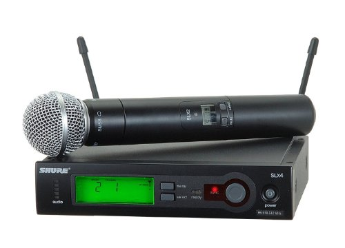 Shure SLX24/SM58 Wireless Microphone System with SM58 Handheld Vocal Mic