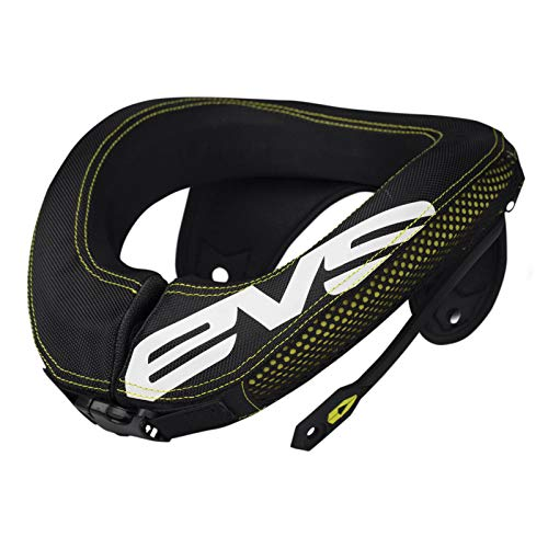 EVS Sports 112053-0109 R3 Race Collar (Black, Adult)