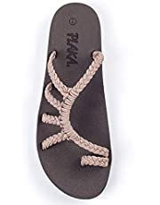 Plaka Relief Flip Flops for Women with Arch Support   Comfy Sandals for Women   Perfect for the Beach, Long Walks or Poolside