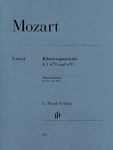 Klavierquartette, KV 478 und 493 / Piano quartets K. 478 and 493