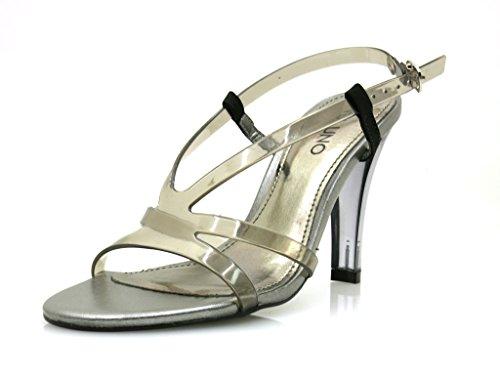 VIA UNO High Heels Sandalette Damenschuhe Sommerschuhe Schuhe 20850602