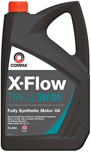 Comma XFLL5L X-Flow Type LL 5W-30 synthetische motorolie 5 L