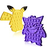 10. EPPO Simple Dimple Fidget Toys, Push Pop Bubble Sensory Toys, Fidget Popper Toys, Relief Stress Anxiety Silicone Fidgets Assortment for Kids Adults