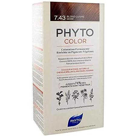 Phyto color 7.43 rubio dorado: Amazon.es: Salud y cuidado ...