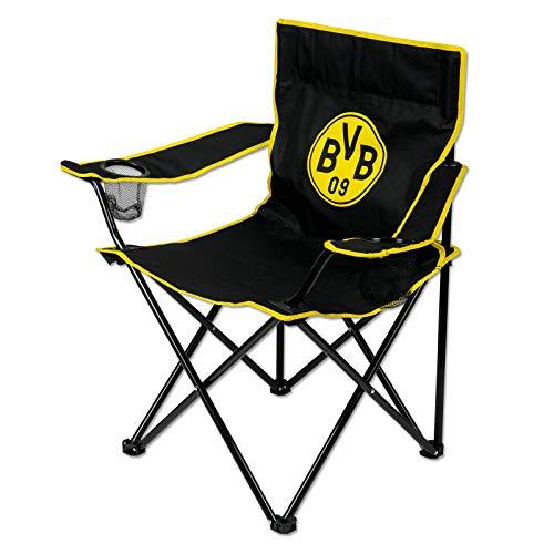Borussia Dortmund Campingstuhl Stuhl (one size, schwarz)