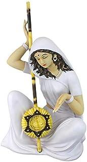 Design Toscano KY46510 Serene Mira Bai Statue, Medium 14 Inches, Full Color
