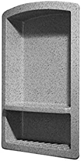 Swanstone RS02215.042 Solid Surface Single Shower Shelf, 4.3