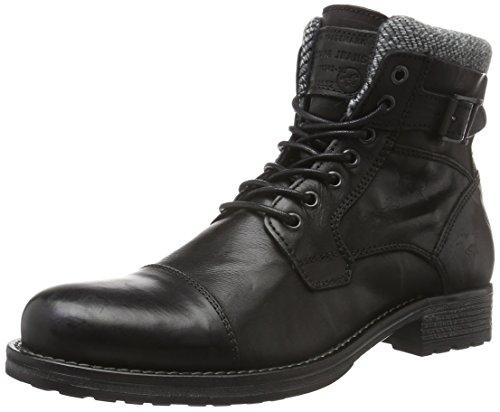 Mustang Herren 4865-506 Kurzschaft Stiefel, Schwarz (9 Schwarz), 47 EU