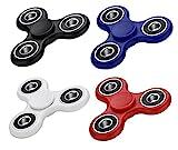 VAPIAO 4er Set Fidget Spinner Hand Spielzeug Special Hochleistungs Kugellager Anti Stress Kreisel in...