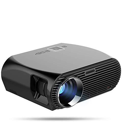 HCL HD-Projektor, 2019 Verbesserter 3600-Lumen-Filmprojektor 200