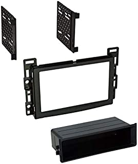 Car Stereo Install Dash Kit to Add an Aftermarket Radio for Some Chevrolet Pontiac Saturn Cobalt HHR Malibu Etc Vehicles - See Compatible Vehicles Below