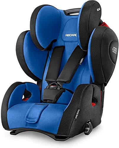 Recaro Young Sport HERO 1-2-3 (9-36 kg; 9 mesi - 12 anni) Blu Seggiolino per Automobile