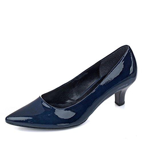 Gabor Shoes Damen Fashion Pumps, Blau (Marine 76), 40.5 EU