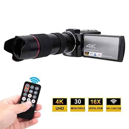 DAUERHAFT con teleobjetivo TX-13 La cámara con teleobjetivo se Puede operar de Forma remota Cámara de visión Nocturna por(Standard + telephoto Glasses + Battery)