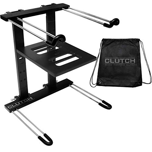 Folding DJ Uber Laptop Stand Computer Table Top Mount Holder w Bag