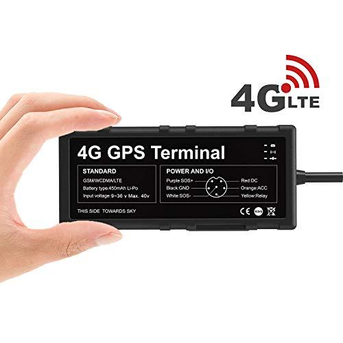 4G GPS Tracker per Auto Toptellite Localizzatore GPS, Hotspot WIFI, Combustibile tagliato a...