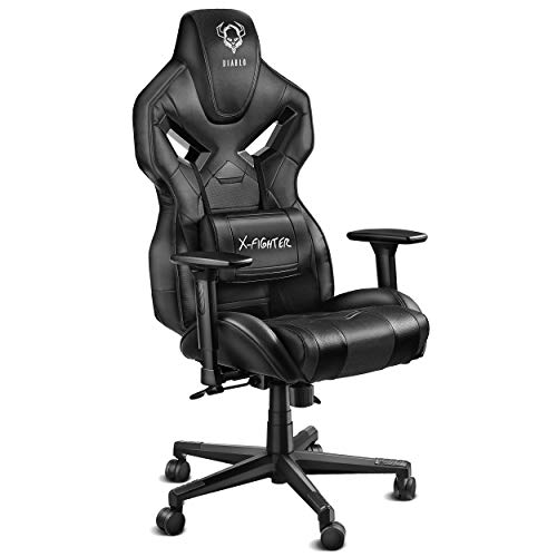 Diablo X-Fighter Gaming Silla De Oficina Reposabrazos Ajustables 3D Me