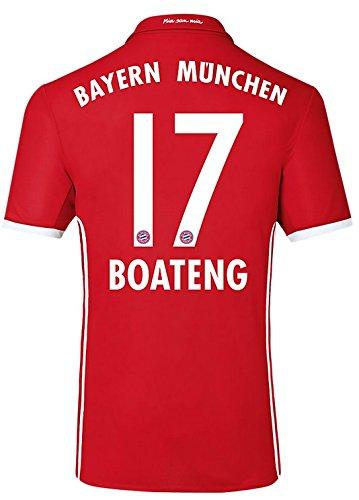 Trikot Adidas FC Bayern München 2016-2017 Home (Boateng 17, 176)