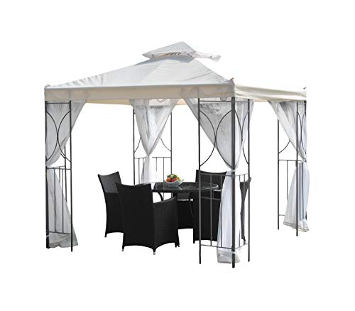 Trans Continental Group Ltd Suntime Polenza 2.5m Steel Patio Garden Gazebo...