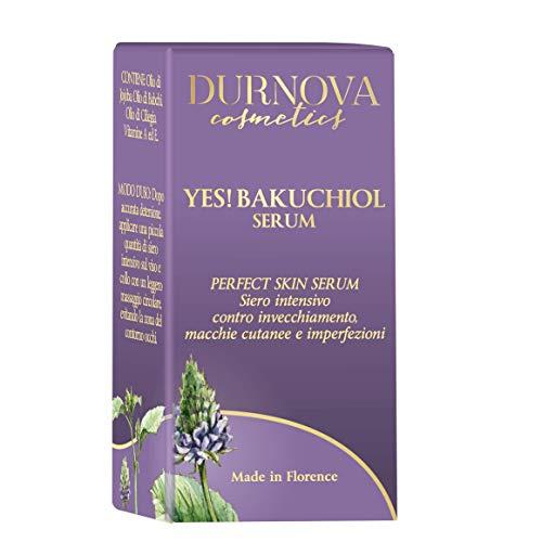 Best Durnova Quality!!! YES! BAKUCHIOL, Miglior Siero babchi trattamento Notte - 15ml - L'alternativa naturale al Retinolo, contro invecchiamento, macchie cutanee e imperfezioni.