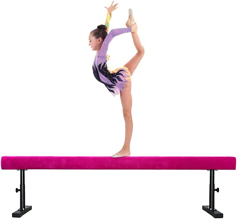 BYBAG Adjustable Balance Beam Gymnastics free Max 44% OFF 6FT for Equipment Kids