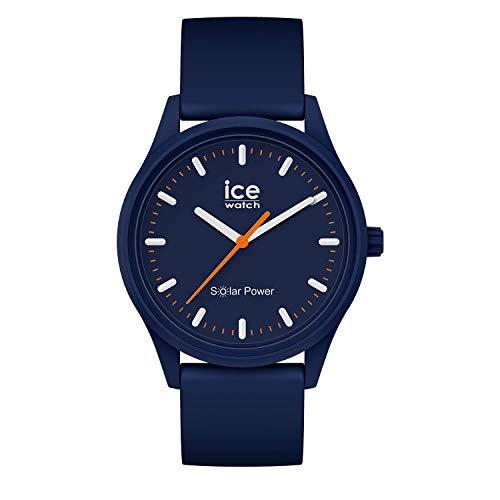 Ice-Watch - ICE solar power Atlantic - Orologio blu Unisex con Cinturino in silicone - 017766 (Medium)