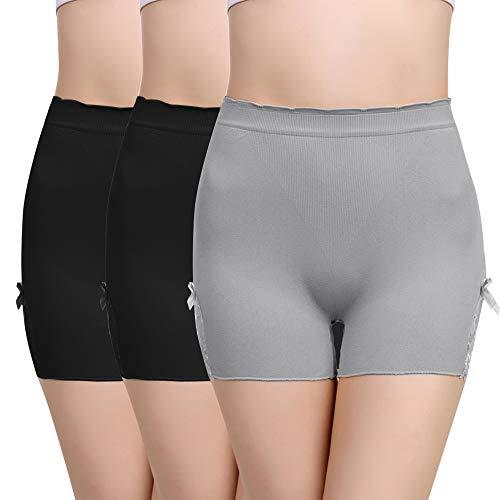 Vertvie Dames Korrelbroek onderbroek hoge taille weg kant ondergoed figuur shapewear