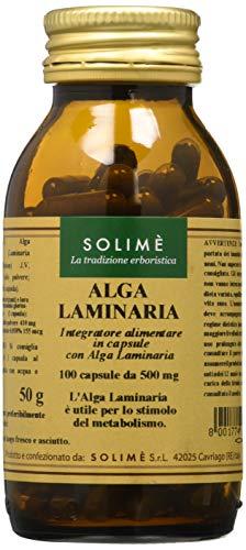 Alga Laminaria Integratore in capsule per un normale regime alimentare 100 capsule da 500 mg - Prodotto erboristico made in Italy