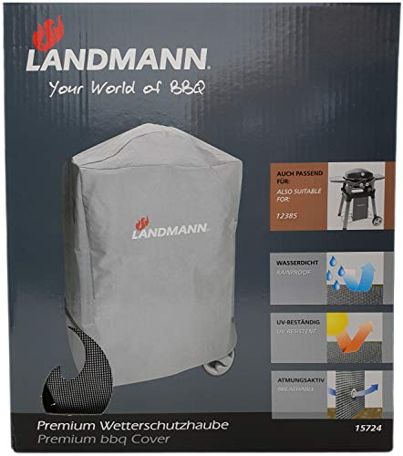 Landmann Premium Wetterschutzhaube Pantera 12338 & 12360 Schutzhaube, grau