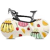 YUXB Cubierta de Rueda de Bicicleta Sweet Snack Pattern Fruit Jelly Antipolvo Bike Bolsa de Almacenamiento Interior A Prueba de arañazos, Lavable Paquete de neumáticos de Alta Elasticidad Road MTB Pr