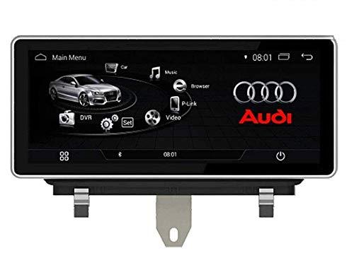 KLL Autoradio Doppio DIN SAT NAV per Audi Q3 2009-2015 Navigazione GPS Android Touch Screen da 10,25 Pollici DSP RDS Lettore multimediale Ricevitore Video con 4G