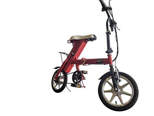Helliot Bikes 763230413599, Bici Elettrica Pieghevole Unisex – Adulto, Bianco, Taglia Unica