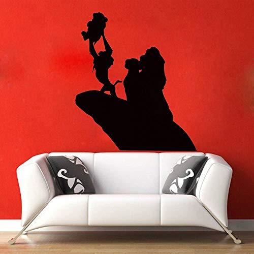 Roi Lion Pour Enfants Chambres Stickers Muraux de Bande Dessinée de Décoration de La Maison Stickers Affiche Salon Decal Nursery