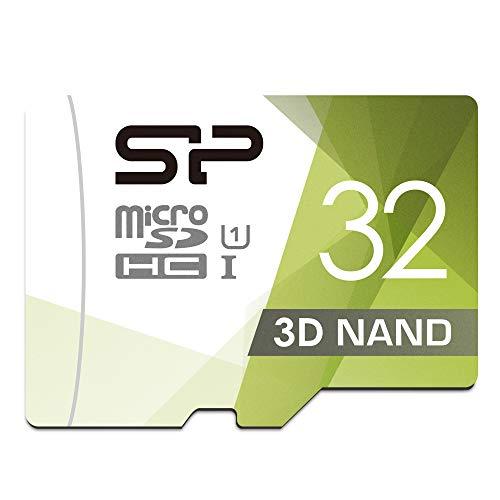 Silicon Power - Scheda di Memoria MicroSDHC UHS-1 da 32 GB (FBE-SU032GBSTHBU1V1GEU)