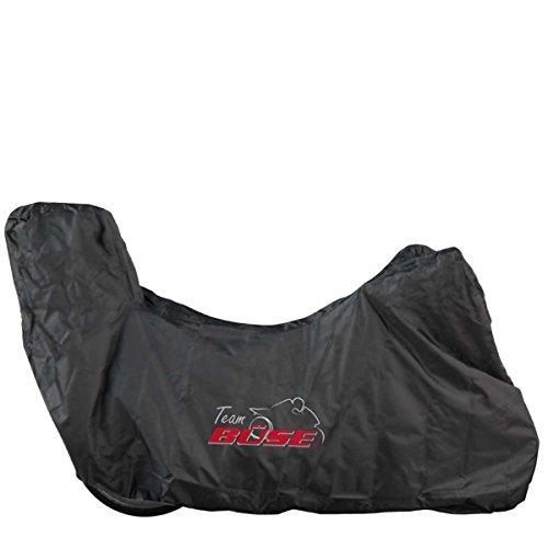 Büse Motorrad Abdeckplane mit Topcase, Farbe schwarz, Größe XL