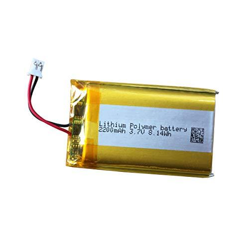 3,7v Lithium-Akku LIP1922-B 2200 mAh mit PH2.0 Stecker für PS4 Controller Ersatzakku Akkupack LIP1522 für Sony Playstation 4 - DUALSHOCK 4 CUH-ZCT1E CUH-ZCT1U Serie Wireless Controller