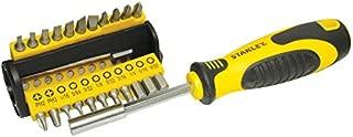 Stanley Multi Bit Screwdriver Set Of 35, Black/Yellow, 3.5 x 2 x 9.1 inches, 70-885