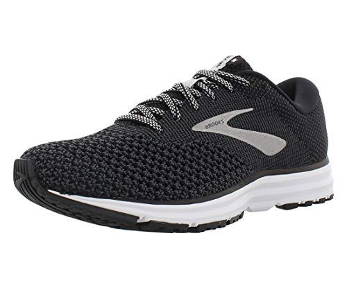 Brooks Womens Revel 2 Running Shoe - Black/Grey/Grey - B - 7.5