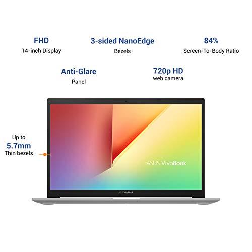 ASUS VivoBook Ultra K14 Intel Core i3-10110U 10th Gen 14-inch FHD Thin and Light Laptop (4GB RAM/512GB NVMe SSD/Windows 10/Integrated Graphics/Hearty Gold/1.40 kg), K413FA-EK338T