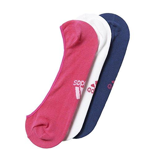 adidas per W Inv T 3PP - Calcetines Unisex, Color Morado/Blanco/Rosa, Talla U